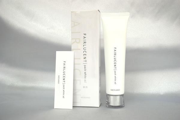 メナード化粧品 フェアルーセント 薬用パック ホワイトAD