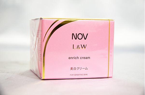 ノエビア ノブ L&W エンリッチクリーム