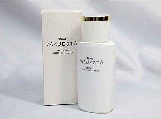 ナリス マジェスタ ネオアクシス ホワイトニング ミルク 80ml