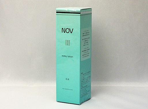 ノエビア ノブ III ミルキィローション 80ml