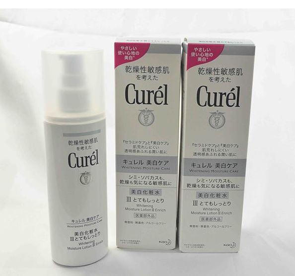 花王 乾燥性敏感肌を考えたキュレル 美白化粧水Ⅲとてもしっとり(医薬部外品) 140ml